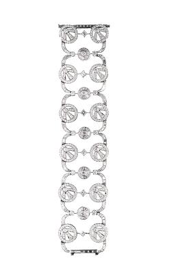 "White Multi-Shape ""Soliel"" Pavé Diamond Cuff product image"