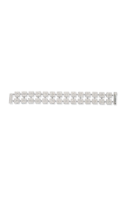"""Hopscotch"" Pavé Double Row Straight Line Diamond Bracelet product image"
