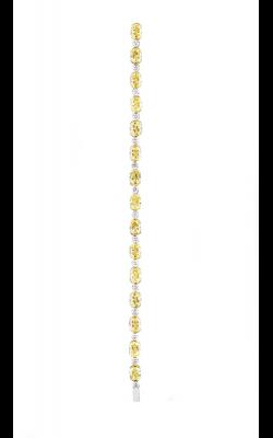 Yellow & White Mutli-Shape Straight Line Diamond Bracelet product image