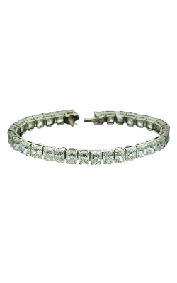 Radiant Cut Classic Straight Line Diamond Bracelet product image