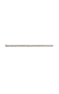 Multi-Shape Double Row Straight Line Diamond Bracelet product image