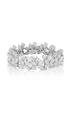 Multi-Shape Cluster Straight Line Diamond Bracelet product image