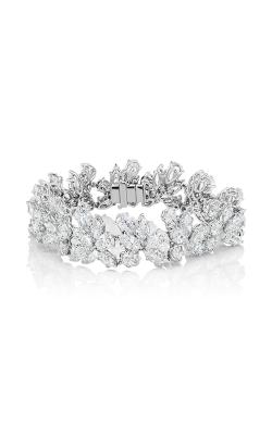 Multi-Shape Cluster Straight Line Diamond Bracelet product image