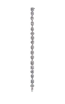 Multi-Shape Pavé Straight Line Diamond Bracelet product image