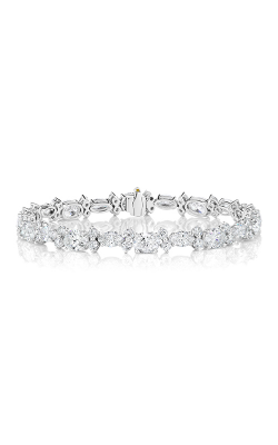 Multi-Shape Straight Line Diamond Bracelet product image