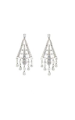 Multi-Shape Diamond Chandelier Earrings product image