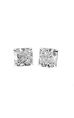Radiant Diamond Stud Earrings product image