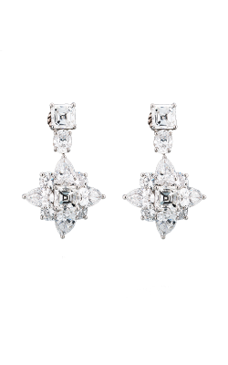 White Multi-Shape Floral Diamond Drops product image