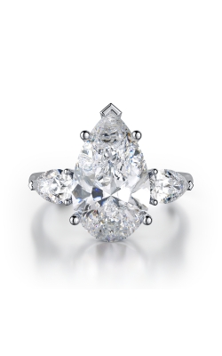 Pearshape Three-Stone Diamond Ring product image