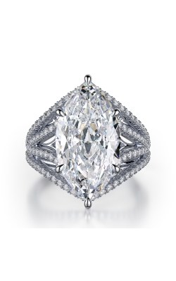 Marquise Pave Diamond Ring product image
