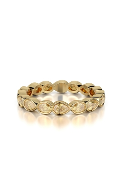 Oval & Pearshape Diamond Eternity Band product image