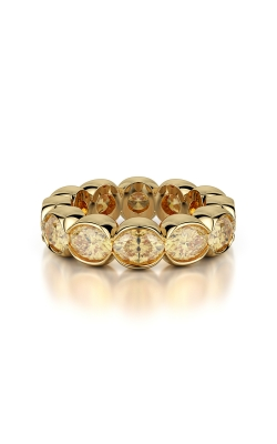 Yellow Oval Eternity Band product image