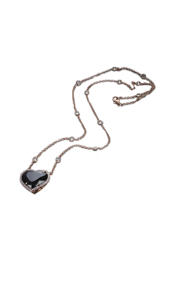 Black Heartshape Diamond Pendant product image