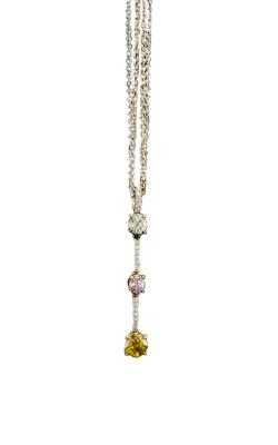 Multi-Color Diamond Pendant product image