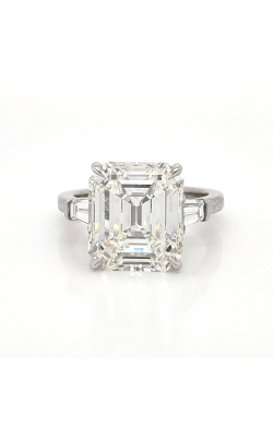 Classic Three-Stone Emerald cut Ring product image