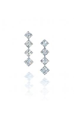 Asscher Cut Diamond Drop Earrings product image