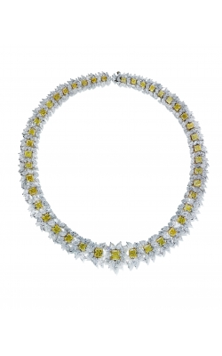 Yellow & White Floral Riviera Necklace product image